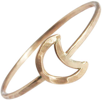 Stefanie Sheehan Jewelry Gold Moon Ring