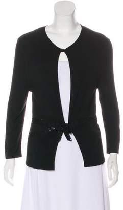 Valentino Sequin Embellished Cardigan