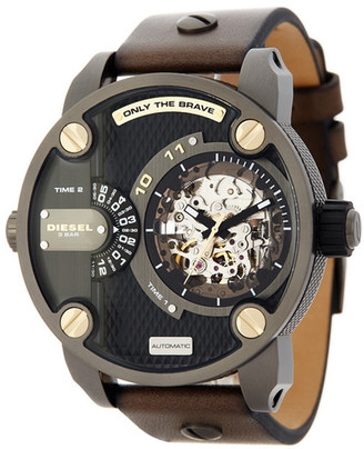 Diesel Men&s Automatic Watch $475 thestylecure.com