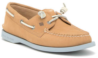 Sperry A/O Vida Leather Slip-On Boat Shoe - Wide Width Available