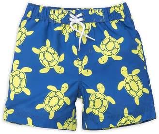 Little Me Baby Boy's Turtle Swim Trunks