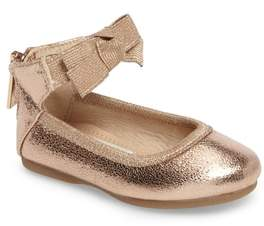 Kenneth Cole New York Rose Bow Ballet Flat