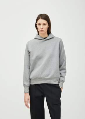 The Row Wren Cotton Hoodie Medium Grey Melange