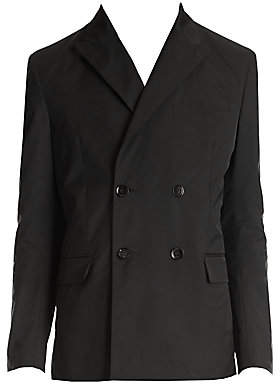 Valentino Men's Double-Breasted Wool Jacket
