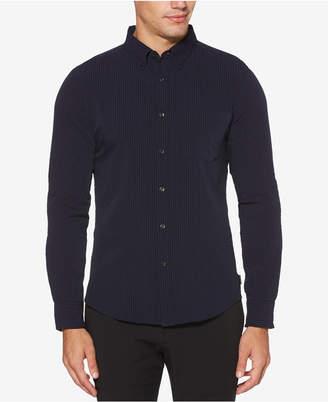 Perry Ellis Men Slim-Fit Seersucker Shirt