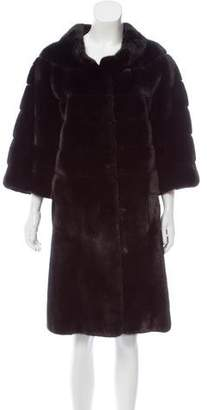 Pologeorgis Mink Fur Coat