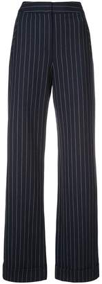 Jonathan Simkhai pinstripe tapered trousers