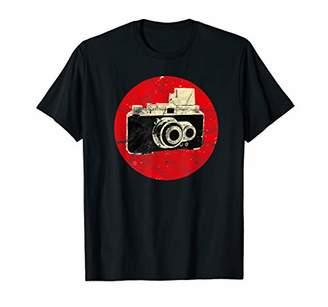 Vintage Japanese Analog Camera Photographer SLR Lens Retro T-Shirt