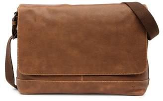 Frye Owen Leather Messenger Bag