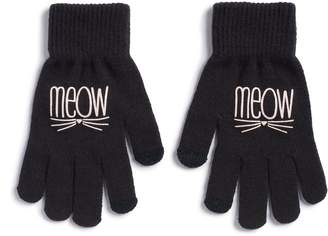 "So Women's SO ""Meow"" Tech Knit Gloves"