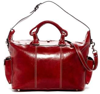 Persaman New York Ryan Italian Leather Weekend Bag