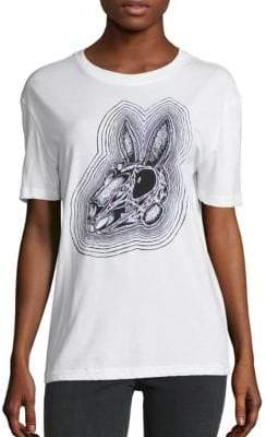 McQ Classic Rabbit Skull Cotton Tee
