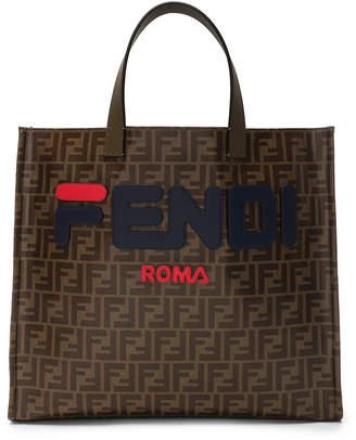 Fendi Mania Small Logo Tote