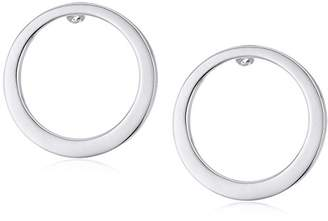 Laundry by Shelli Segal Small Front Face Hoop Earrings
