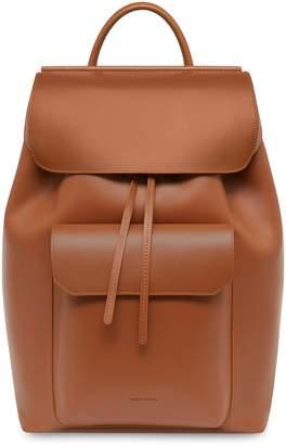 Mansur Gavriel Calf Technical Backpack - Saddle