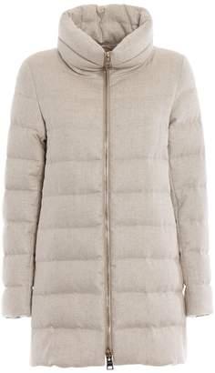 Herno Front Zip Padded Coat