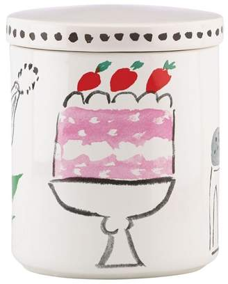 Kate Spade All In Good Taste Covered Ceramic Canister