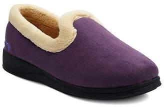 f79d9549591 at Debenhams · Padders - Purple  Repose  Womens Memory Foam Slippers