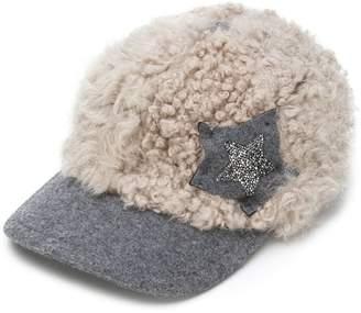 Lorena Antoniazzi shearling cap