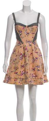 Zac Posen Z Spoke by Sleeveless Mini Dress