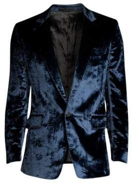 Paul Smith Crushed Velvet Jacket