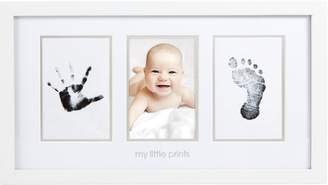 Pearhead Pear Head Babyprints Newborn Baby Handprint and Footprint Photo Frame Kit with Included Safe For Baby Clean-Touch Ink Pad