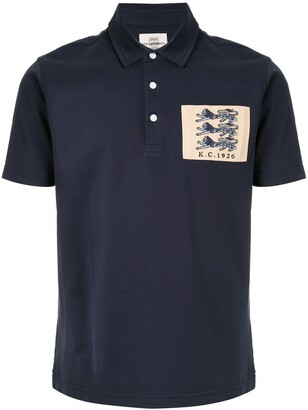 Kent & Curwen logo embroidered polo shirt