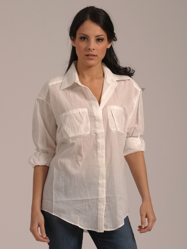 Elizabeth & James Artist Button Down Shirt