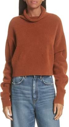 alexanderwang.t Wool Blend Crop Sweater