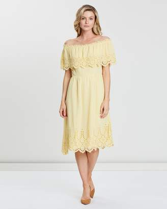Dorothy Perkins Cutwork Midi Dress