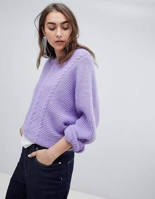 Gestuz adel pullover fluffy sweater