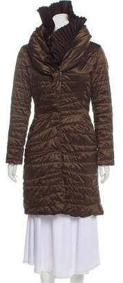Ermanno Scervino Pleated Puffer Coat