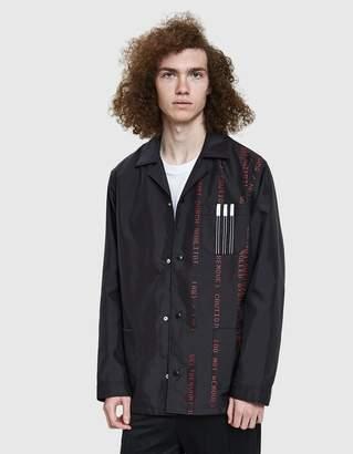 Alexander Wang Adidas X AW Coach Jacket in Black