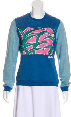 Kenzo Long Sleeve Knit Sweatshirt