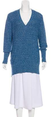 Akris V-Neck Knit Sweater
