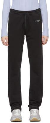 Acne Studios Black Elodie Lounge Pants