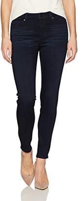 Liverpool Jeans Company Women's Petite Abby Skinny 5 Pocket Mid Rise Super Soft Stretch Denim Jean