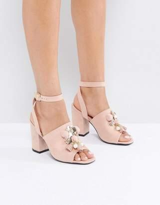 Park Lane Embellished Heel Sandal