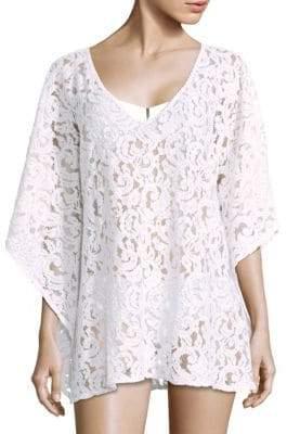 Melissa Odabash Short Lace Caftan