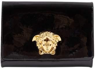 Versace Black Patent leather Clutch Bag