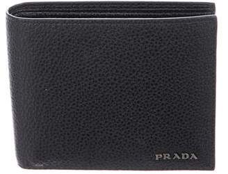 Prada Bifold Leather Wallet