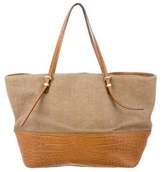 Michael Kors Large Straw Gia Tote
