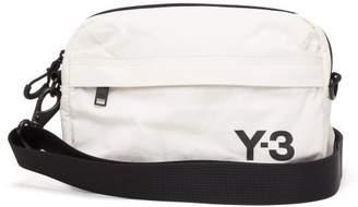 Y-3 Y 3 Logo Print Sling Bag - Mens - White