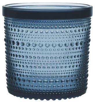 Iittala Kastehelmi Large Jar - Rain Blue