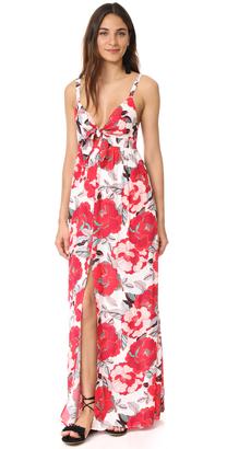 cupcakes and cashmere Thorpe Saguaro Floral Maxi Dress $140 thestylecure.com