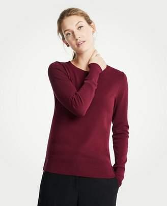 Ann Taylor Petite Side Button Sweater