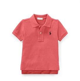Polo Ralph Lauren Cotton Mesh Polo Shirt(6-24 Months)