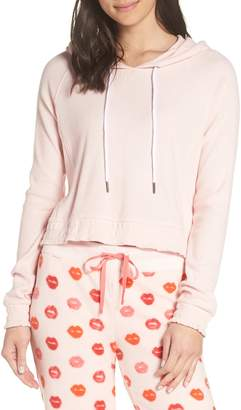 Make + Model Cozy Up Cropped Ribbed Hoodie