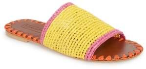 Topshop Fresh Woven Slide Sandal