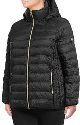 MICHAEL Michael Kors THE COAT EDIT Short Packable Puffer Coat
